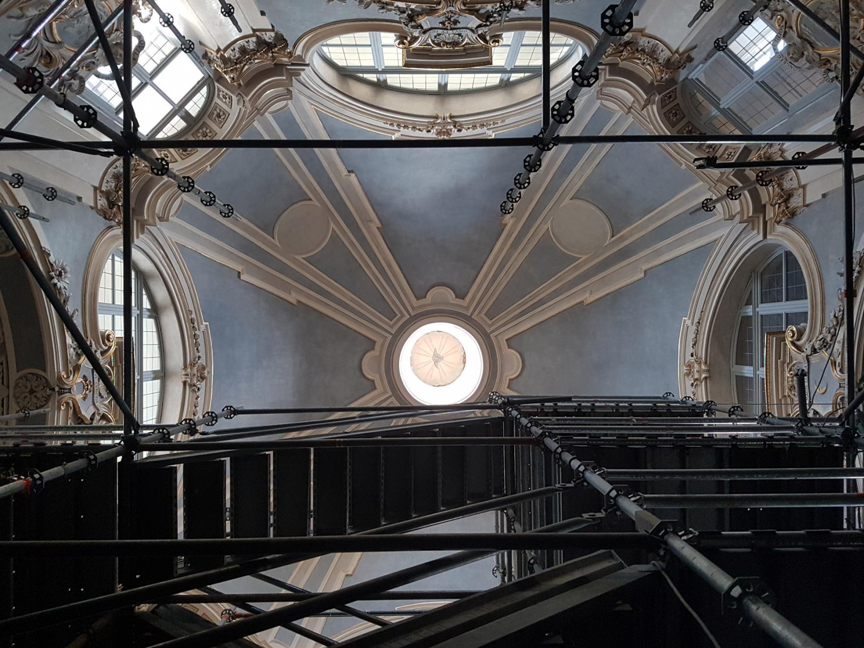 Restauro chiesa di Santa Chiara a Torino