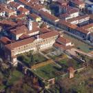 Restauro della Casa della Pace a Chieri - vista aerea del complesso