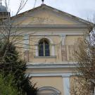 Restauro Chiesa della Pace a Chieri - facciata prima del restauro