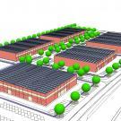 P.I.P. a Beinasco - prospettiva di progetto
