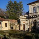 Ristrutturazione Edificio ottocentesco a Moncalieri - vista del giardino