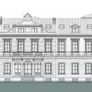 Ristrutturazione Edificio ottocentesco a Moncalieri - prospetto