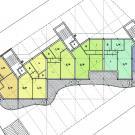 """Edificio residenziale in """"Classe A+"""" - planimetria"""