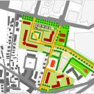 Pec residenziale RN1 a Beinasco - planimetria d'insieme
