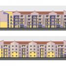 Pec residenziale RN1 a Beinasco - prospetti
