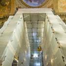 Restauro chiesa S. Teresa a Torino - cantiere di restauro