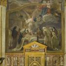 Restauro chiesa S. Teresa a Torino -  cappella di santa Teresa dopo l'intervento di restauro