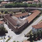 Ristrutturazione Fabbricato commerciale a Cambiano - foto aerea del complesso