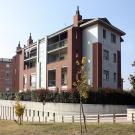 Edificio residenziale a Beinasco - vista da via Torino