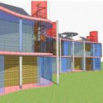 """Progetto di edificio residenziale in """"Classe A+"""""""