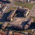Nuovo insediamento residenziale area RN1 a Beinasco - vista aerea